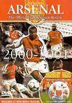 Arsenal. Season Review 2000/2001. Dvd. Region Free. Football. 2000. 2001