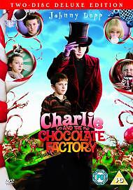 CHARLIE AND THE CHOCOLATE FACTORY DVD (2 DISC) FREE P&P