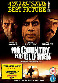 NO COUNTRY FOR OLD MEN    BRAND NEW SEALED GENUINE UK DVD