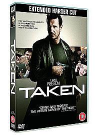 TAKEN starring LIAM NEESON    DVD - <span itemprop=availableAtOrFrom>Derby, United Kingdom</span> - TAKEN starring LIAM NEESON    DVD - Derby, United Kingdom