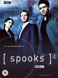 Spooks-Series-4-Complete-DVD-2006-5-Disc-Set-Box-Set-NEW