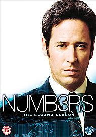 Numb3rs - Series 2 (DVD, 2007)free postage uk