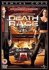 Death Race [DVD], Very Good DVD, Jason Statham, Joan Allen, Ian McShane, Tyrese