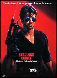 Cobra (1986) DVD - Italia - Cobra (1986) DVD - Italia