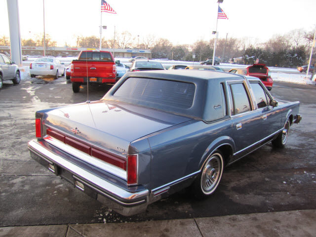 1984 Lincoln Town Car Signature Series For Sale Mickey Mouse Swiss