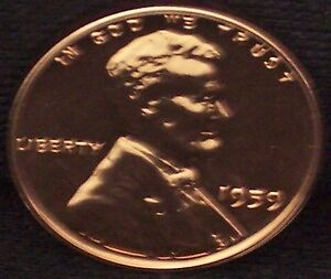 1959-P-Proof-Lincoln-Penny-Beautiful-Coin