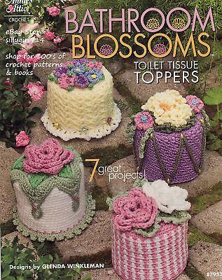 """Шаблоны """"BATHROOM TOILET TISSUE TOPPERS""""~Annies Crochet"""