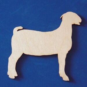 Boer-Goat-Unfinished-Wood-Shape-Cut-Out-BG8069-Crafts-Lindahl-Woodcrafts