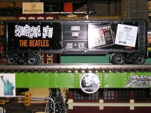 Lionel beatles box cars