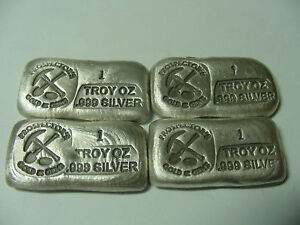 1 oz pour bar Loaf PROSPECTOR PG&G 999 Silver NO RES