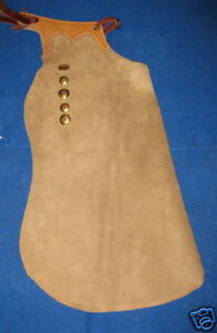 Tooled-Top-Working-Custom-Made-Bell-Batwing-Chaps-Chap