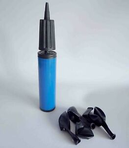1-Blue-palstic-balloon-pump-Inflator-Hand-Held