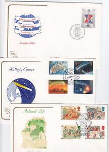Cotswold 10 FDCs, 1986-7, Lot 4957