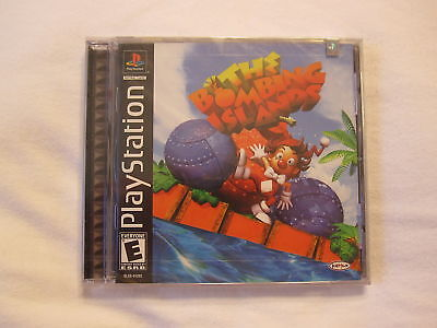 The Bombing Islands (playstation Ps1) Brand New, Sealed