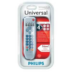Philips SRU3040 - 4 in 1 Universal Remote Control (New)