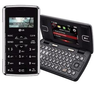 NEW in BOX LG enV2 VX9100 VX 9100 VERIZON BLACK CDMA PHONE