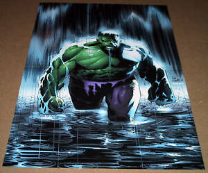 INCREDIBLE-HULK-POSTER-DELGADO-LEE-WEEKS-77-BRUCE-BANNER-AVENGERS-MARVEL-COMICS
