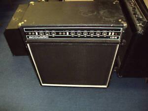 acoustic 134 electric guitar amp vintage 4x10 ebay. Black Bedroom Furniture Sets. Home Design Ideas