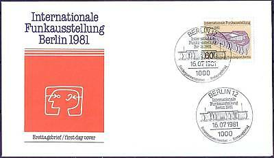 Berlin 1981: IFA! FDC der Nr. 649 mit sauberen Ersttags-Sonderstempeln! 1A! 1709