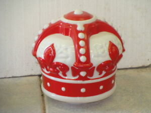 Reproduction Red Crown Gas Pump Globe