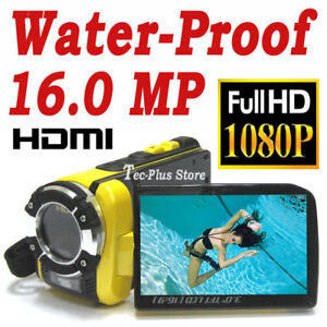 NEW-JAPAN-W5-WATERPROOF-16MP-FULL-HD-1080P-CAMCORDER-x