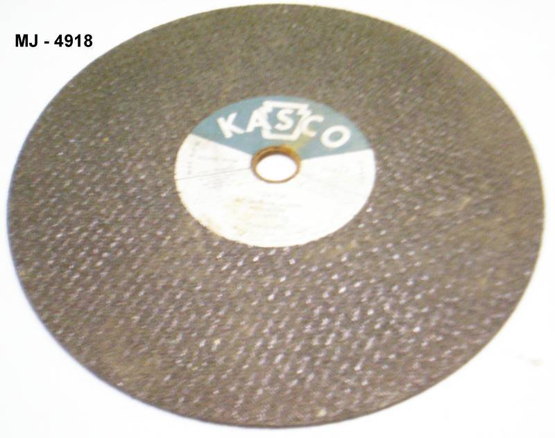 Kasco Aluminum Oxide Resinoid Cutting Blade for Metal