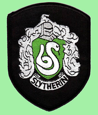 Harry Potter - Slytherin Roben Patch - Aufnäher zum Aufbügeln