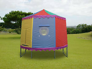 10Ft 4 or 8 Pole Trampoline Tent Cover Playhouse