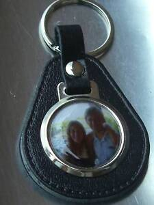 YOUR-PHOTO-BONDED-LEATHER-KEYRING-NICE-GIFT