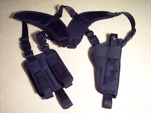 XXL-RIGHT-Hand-VERTICAL-Shoulder-Holster-SPRINGFIELD-ARMORY-XDM-5-25-Barrel-USA