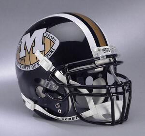 MISSOURI TIGERS 1990 Gameday Football Helmet | eBay