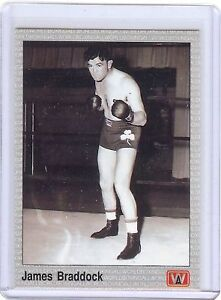 JAMES-BRADDOCK-034-The-Cinderella-Man-034-1991-Boxing-Card