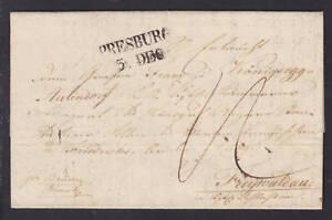 Austria-1840-Stampless-SFL-black-PRESBURG-postmark