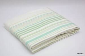 NEW-POTTERY-BARN-Teen-TONAL-STRIPE-SILK-DRAPE-52x63