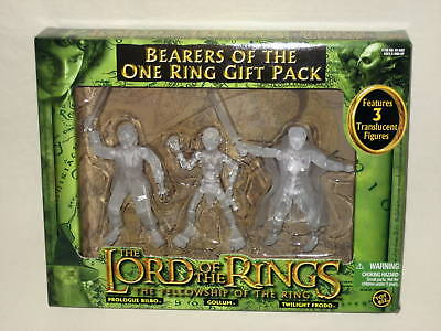 Lotr Lord Of The Rings Bearers Of The One Ring Gift Pack Translucent Figures Set