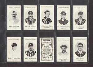 CRICKET-TADDY-CO-SET-OF-15-MIDDLESEX-CRICKETERS-REPRO