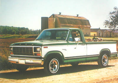 1981 Ford Pickup Truck Brochure / Catalog: F-100,150, Xlt,supercab, Pick Up