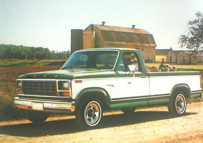 1981 Ford Pickup Truck Brochure / Catalog: F-100,150, Xlt,supercab, Pick Up