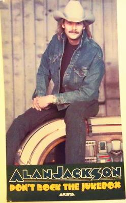 W@W ALAN JACKSON  Early Career JUKEBOX  Promo  PHOTO Poster