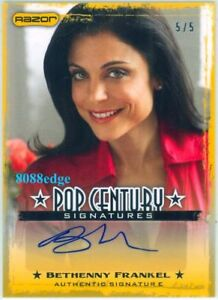 2010-POP-CENTURY-AUTOGRAPH-AUTO-BETHENNY-FRANKEL-5-5-REAL-HOUSEWIVES-NY-CITY