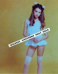 Brooke Shields Photo Young Hollywood Pre Teen Days Cute