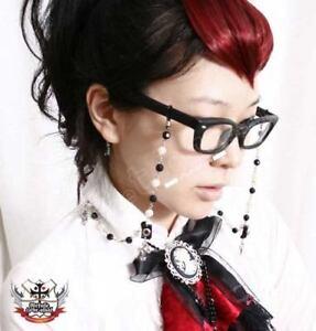 RTBU-Elegant-Gothic-Lolita-eyeglass-BW-pearl-bead-Chain