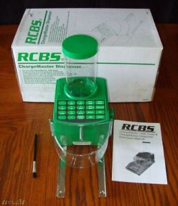 RCBS-1500-CHARGEMASTER-POWDER-DISPENSER-TRICKLER-ADDITION-FOR-110-220-SCALE-NEW