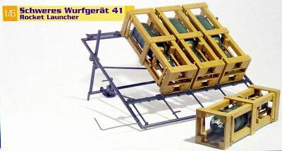 Dragon Models Wwii 1/6 Scale For 12 Figures German Rocket Launcher Kit 75007