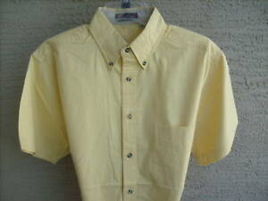 NEW-MENS-FOREST-HUE-S-S-COTTON-BLEND-TWILL-SHIRT-S