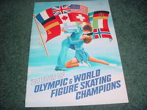 1984 TOUR OF WORLD & OLYMPIC FIGURE SKATING CHAMPIONS