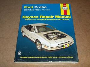 1989-1992-Ford-Probe-Haynes-Repair-Service-Manual