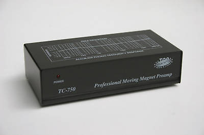 Tcc Tc 750 Phono Preamp  Black Finish Version