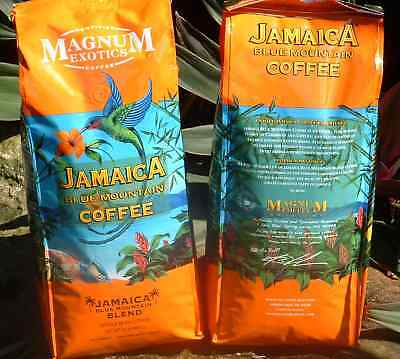 Jamaican Blue Mountain Coffee Blend Whole Bean 2 Lbs Jamaica Free Priority Ship