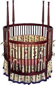 Nursery Baby Poster Round Crib Furniture Plans / DIY   eBay